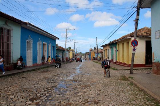Calles adoquinadas de Trinidad