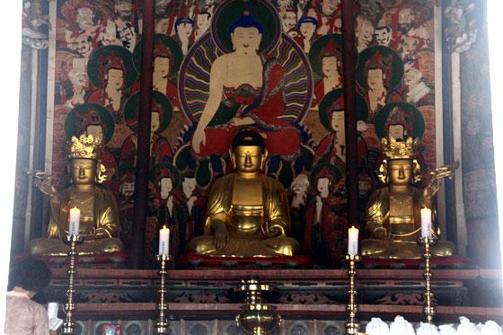 Que ver y hacer en Busan ... Tesoro budista