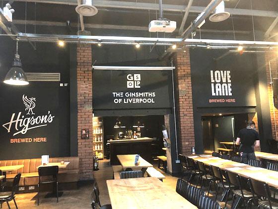 Love Lane , uno de nuestras cervecerías artesanas de Liverpool