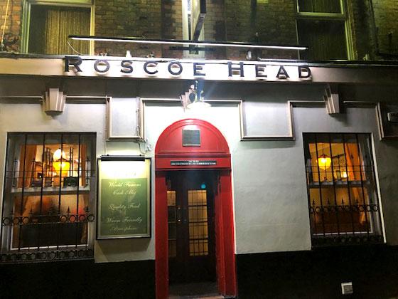 Donde beber en Liverpool (The Roscoe Head ) toda una institución