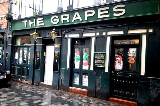 Mejores pubs de Liverpool , entre ellos The Grapes
