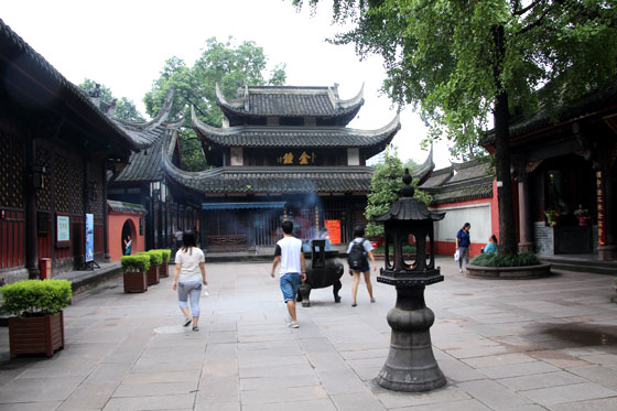 Chengdu City , Ruta por China