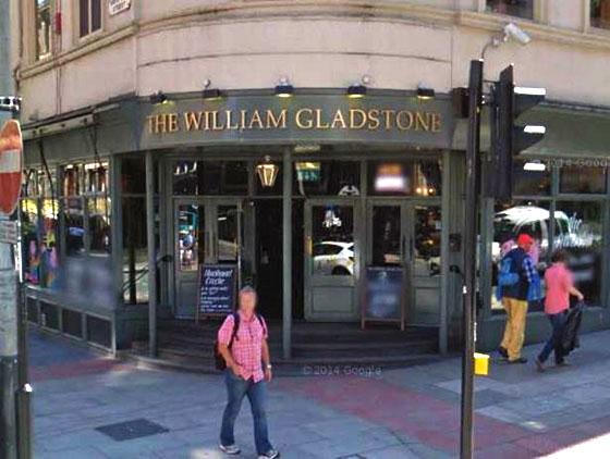 Buena  cerveza en Liverpool , The william Gladstone lleva años haciéndolo