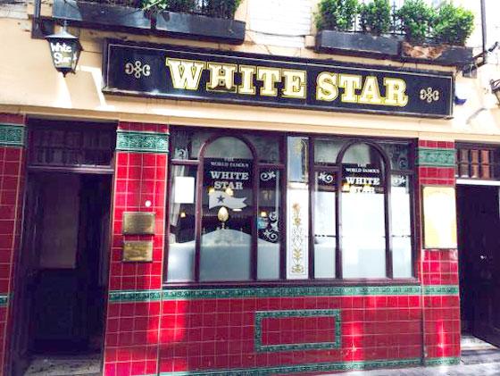 Donde beber en Liverpool (White star)