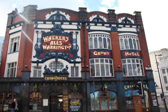 Walkers Ales Warrington , todo un emblema entre los mejores pubs de Liverpool