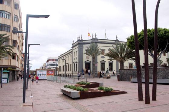 Centro de puerto del Rosario