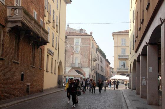 Centro histórico de Pavia