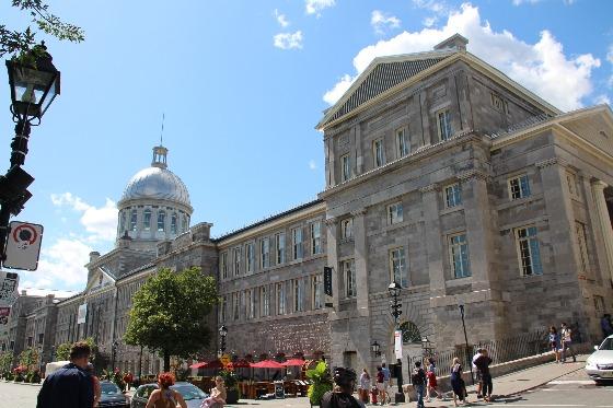 Que ver y hacer en Montreal ... Mercado Bonsecours
