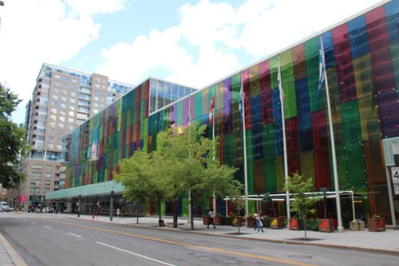Palacio de Congresos (Que ver y hacer en Montreal)