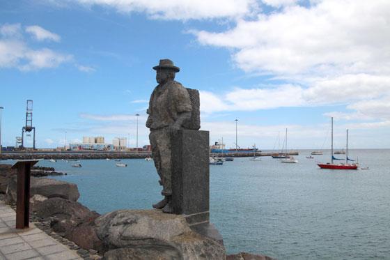 Esculturas de Puerto del Rosario , emblema local.