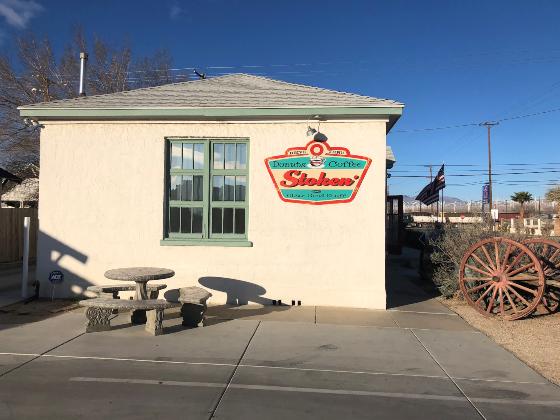 La casa de los donuts de Mojave