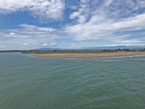 que ver y hacer en el delta  de l'ebre Illa de Buda