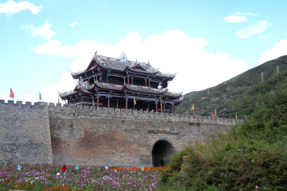 Songpan , joya en nuestra ruta por China