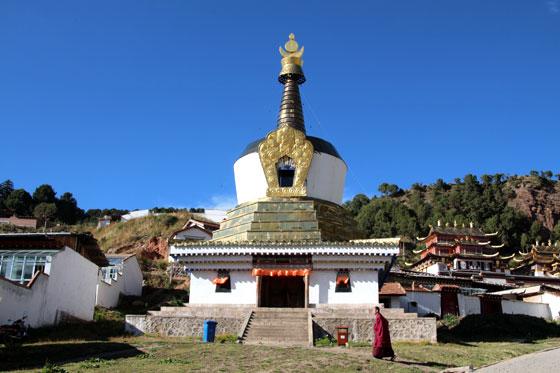 Ruta por China , Monasterio en Langmusi
