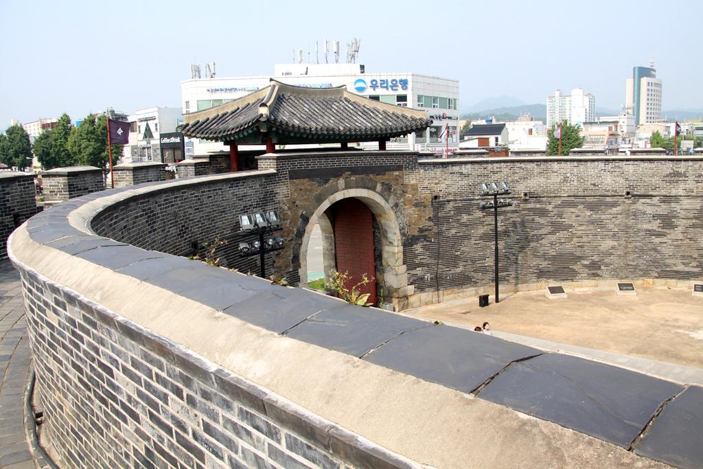 imagen de la muralla de Suwon
