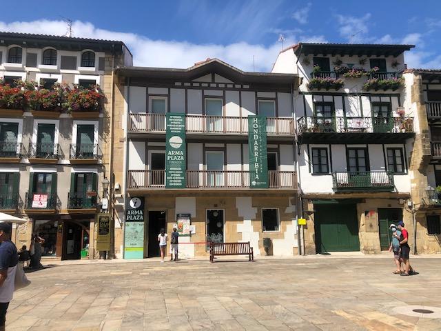 Plaza de armas de Hondarribia