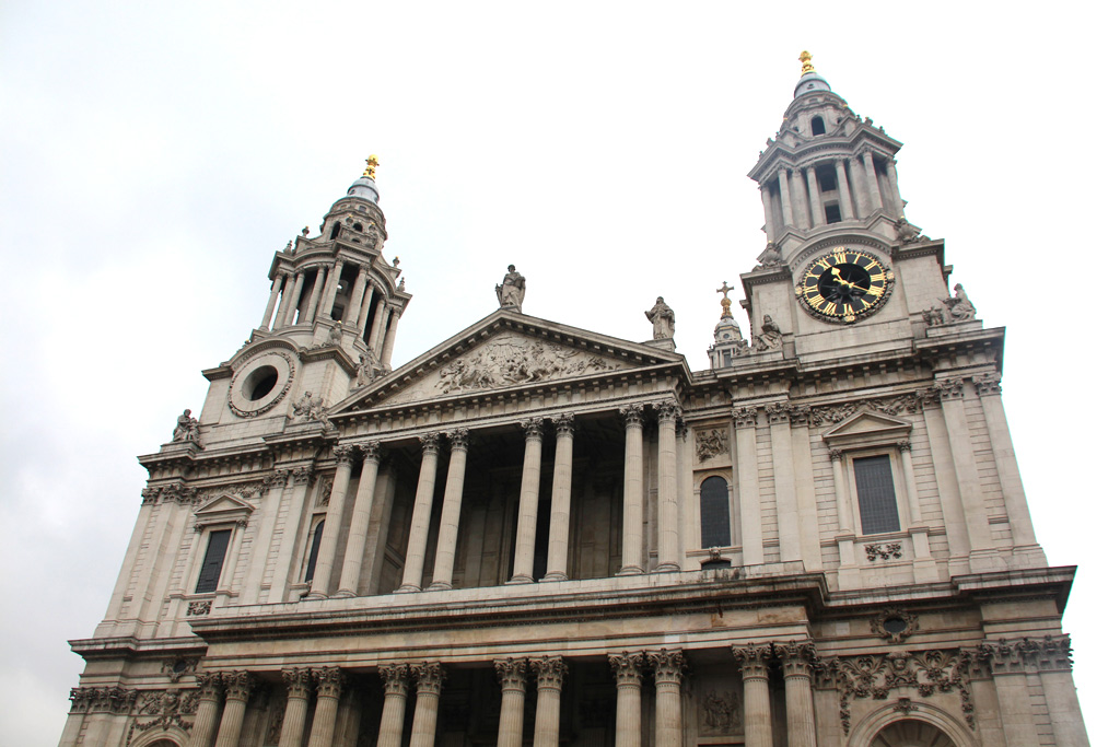 fachada de St Pauls Cathedral