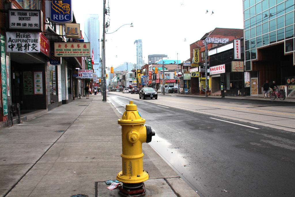 Toronto barrio chino