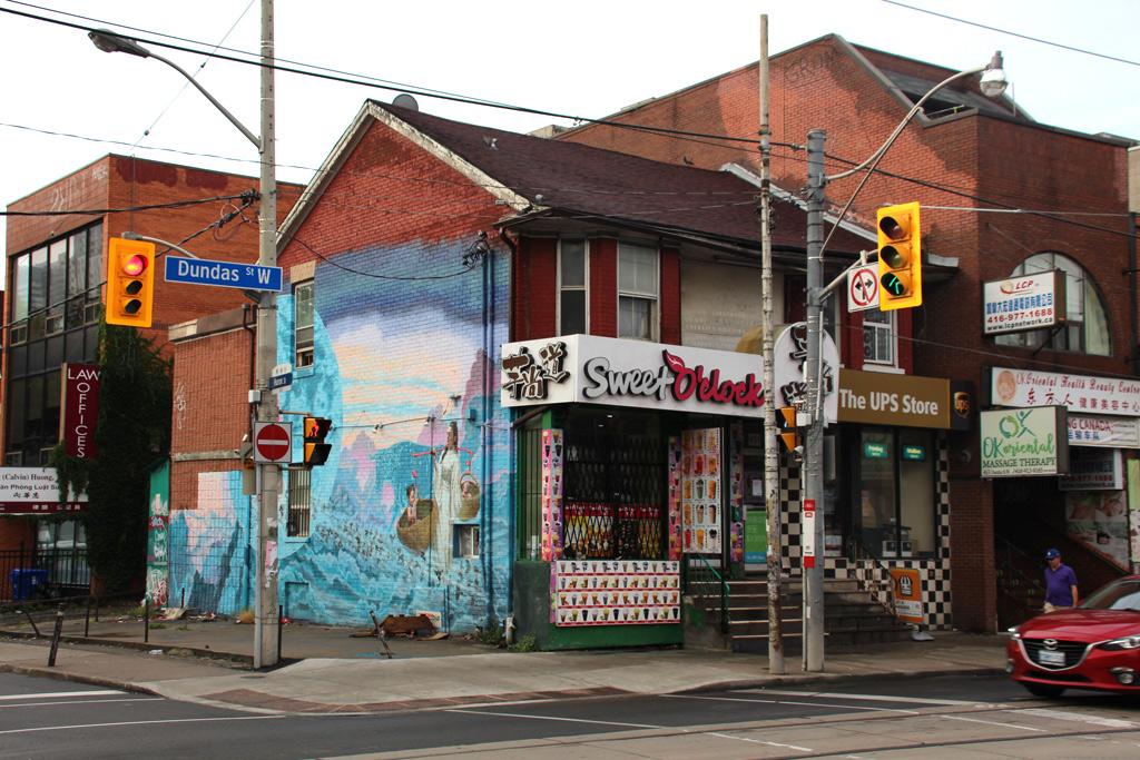 Barrio chino en Canadá
