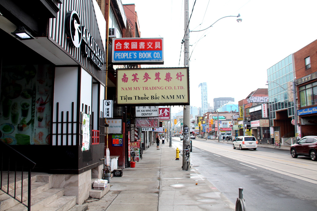 comercios chinatown