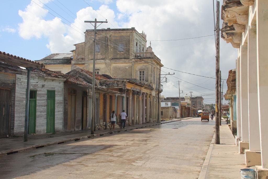 centro de la ciudad de Caibarién