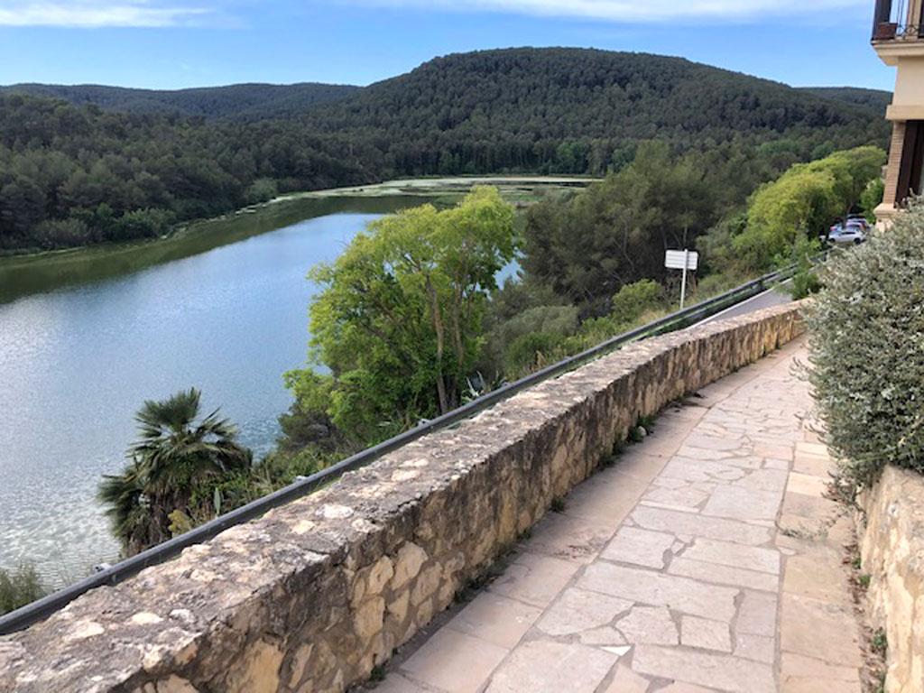 Vistas del pantà de Foix