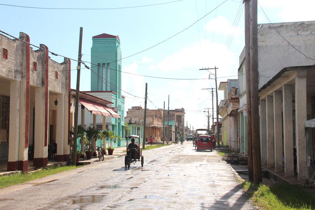 calles de la ciudad de Caibarién