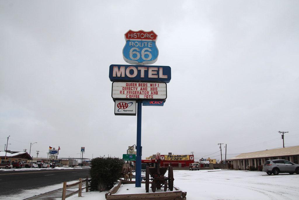 motel en Seligman