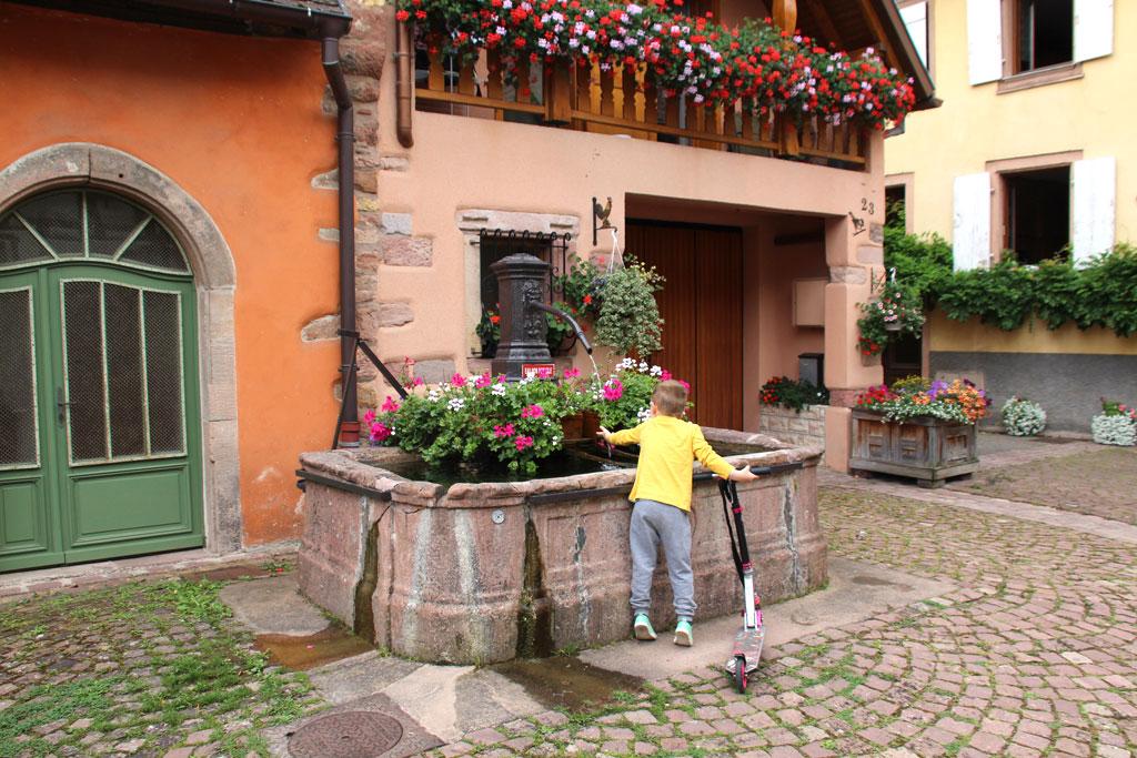ruta por Alsacia y selva negra